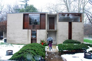 Esherick House, Louis Kahn, arch., 1959