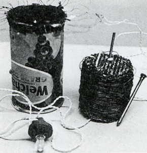 Tin-can radio designed by Victor Papanek