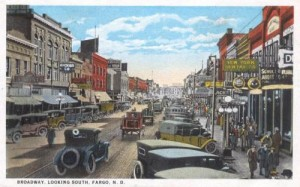 Broadway, Looking South, Fargo, North Dakota 1920s.preview