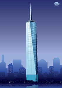FreeVector-One-World-Trade-Center