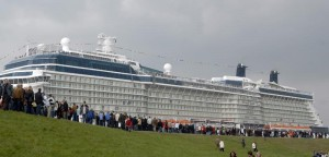 New Celebrity Solstice Launched On Maiden Voyage
